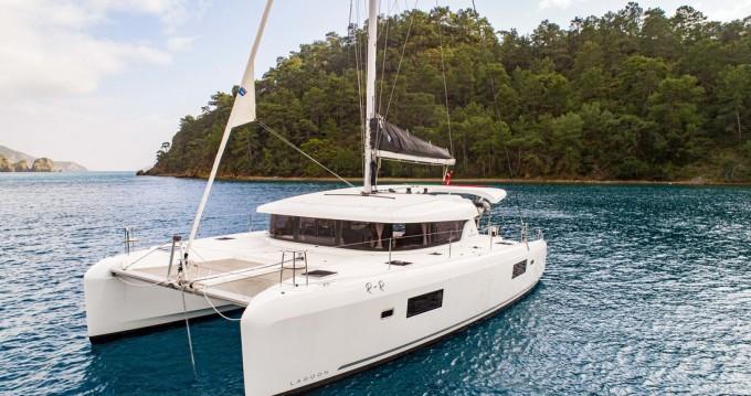 Boat rental Göcek cheap Lagoon 42