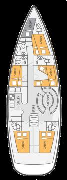 Rental Sailboat in Lávrio - Ocean Star Ocean Star 56.1 - 6 cab.
