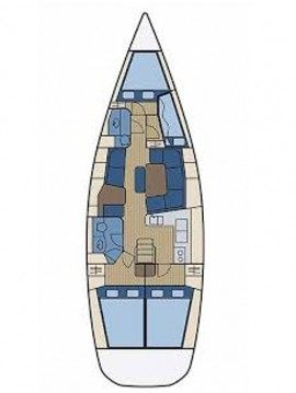 Jeanneau Sun Odyssey 43 DS between personal and professional Pirovac