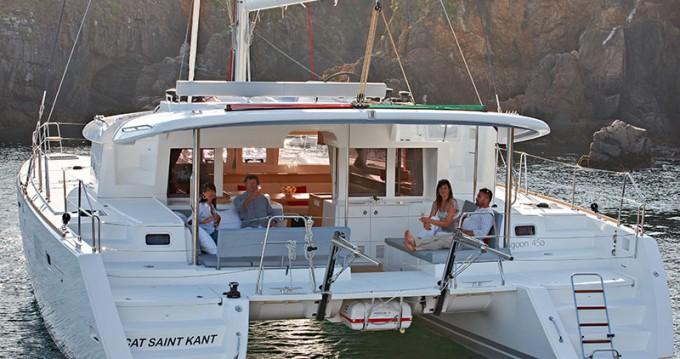 Boat rental Lagoon Lagoon 450 in Lefkas Egremni on Samboat