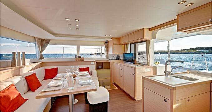 Boat rental Lefkas Egremni cheap Lagoon 450