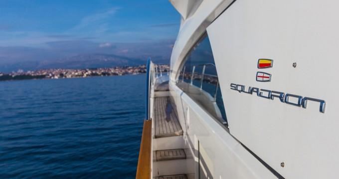 Boat rental Split cheap Fairline Squadron 78