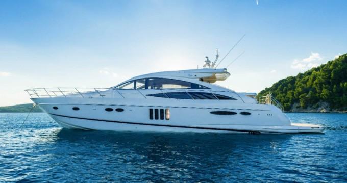 Boat rental Split cheap Princess V65