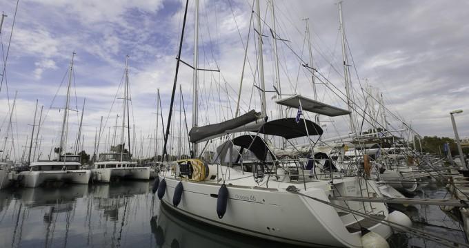 Boat rental Lávrio cheap Oceanis 46