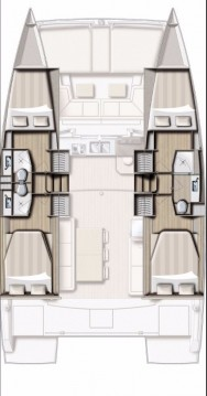 Catana Bali 4.0 - 4 + 2 cab. between personal and professional Olbia
