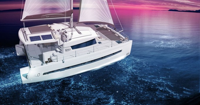 Catana Bali 4.0 - 4 + 2 cab. between personal and professional Anse Marcel