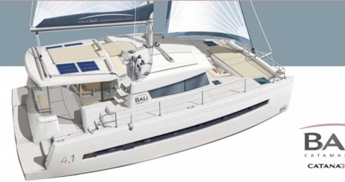 Rental yacht Old Port of Marseille - Catana Bali 4.1 - 3 cab on SamBoat