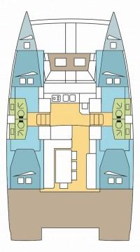 Hire Catamaran with or without skipper Catana Saint Thomas