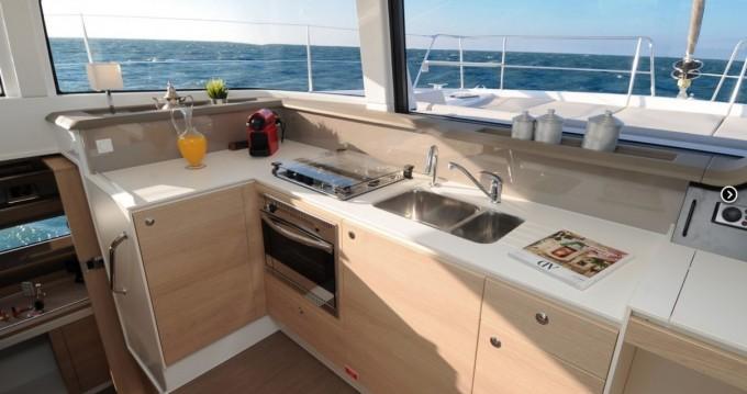Rental yacht Saint Thomas - Catana Bali 4.1 - 4 + 2 cab. on SamBoat