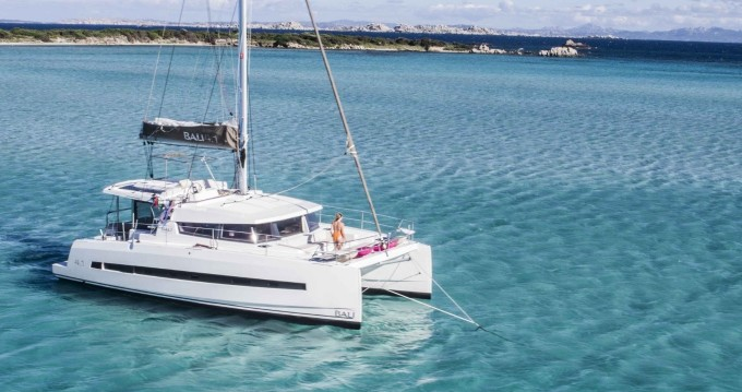 Rental Catamaran in Naples - Catana Bali 4.1 - 4 + 2 cab.