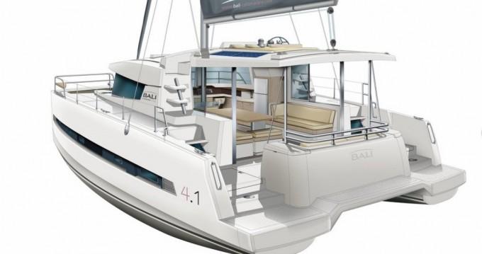 Rental Catamaran in Saint Thomas - Catana Bali 4.1 - 4 + 2 cab.