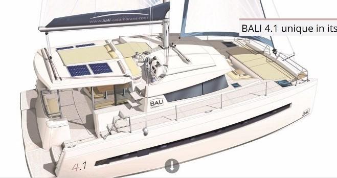 Rental yacht Scrub Island - Catana Bali 4.1 - 4 + 2 cab. on SamBoat