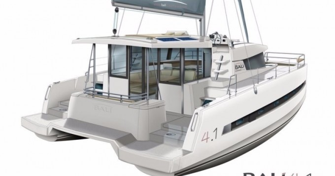 Rental Catamaran in Scrub Island - Catana Bali 4.1 - 4 + 2 cab.