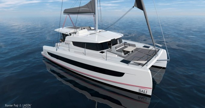 Rental yacht Nassau - Catana Bali 4.2 - 4 + 1 cab. on SamBoat