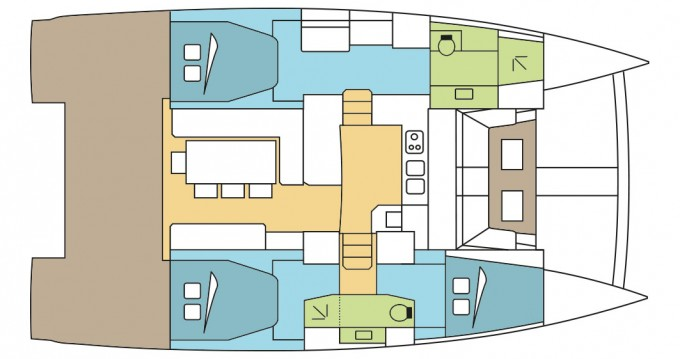 Rental Catamaran in Annapolis - Catana Bali 4.3 - 3 cab