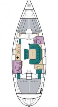 Sailboat for rent Vlycho at the best price