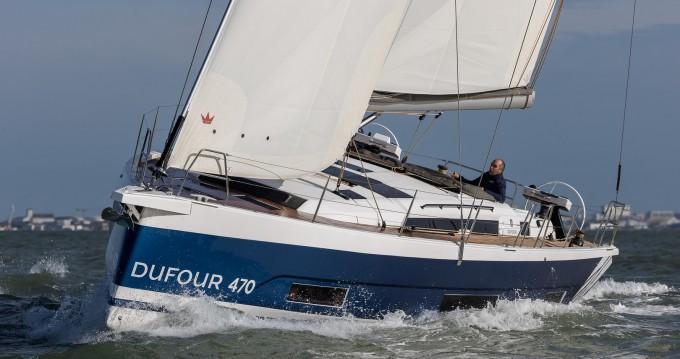 Rental yacht Marmaris - Dufour Dufour 470 - 5 cab. on SamBoat