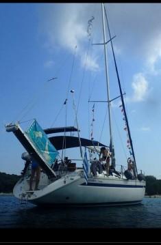 Boat rental Skiathos cheap Bavaria 46 Holiday
