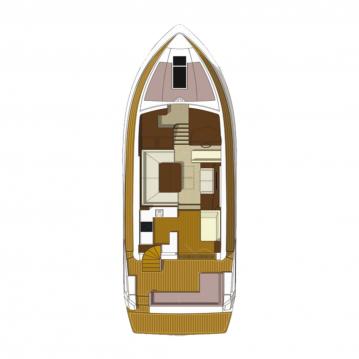 Boat rental Galeon Galeon 550 Fly in Rogoznica on Samboat
