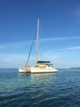 Rental Catamaran in Corazón de Jesús Island - Fountaine Pajot Bahia 46 - 3 + 1 cab.