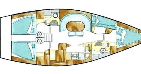 Boat rental Feeling-Yachts Feeling 446 in Corazón de Jesús Island on Samboat