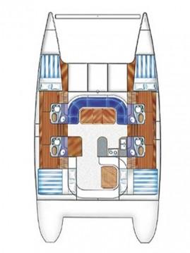 Rental yacht Corazón de Jesús Island - Nautitech Nautitech 44 on SamBoat