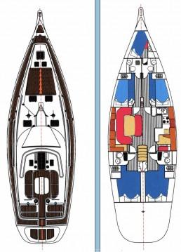 Rental Sailboat in Lávrio - Ocean Star Ocean Star 51.2 - 4 + 1 cab.