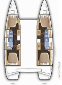 Rental Catamaran in Lefkas Egremni - Lagoon Lagoon 42