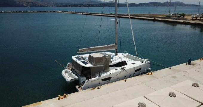 Catamaran for rent Sami at the best price