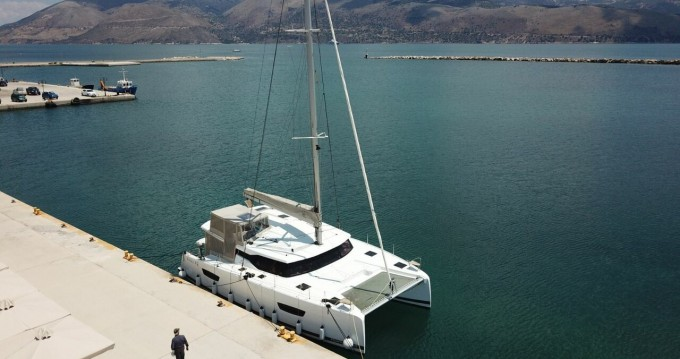 Fountaine Pajot Astrea 42 between personal and professional Sami
