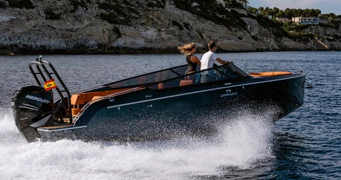 Boat rental Palma de Mallorca cheap Cranchi E26 Rider