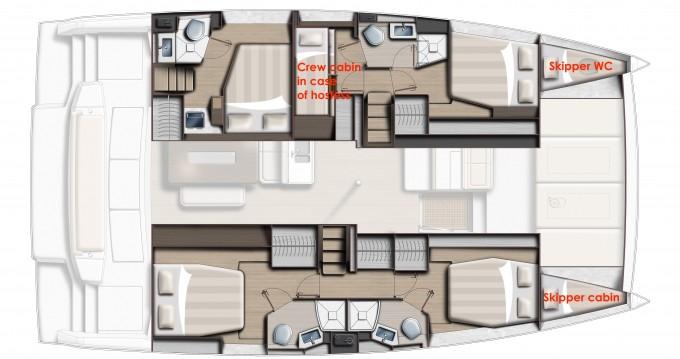 Rental yacht Capo d'Orlando - Bali Catamarans Bali 4.6 on SamBoat