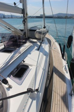 Bavaria Cruiser 41 between personal and professional Deme of Volos