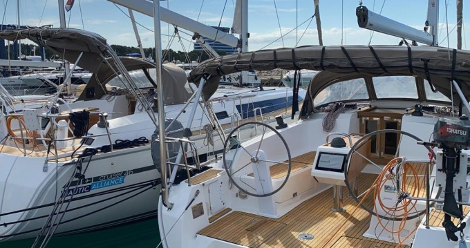 Bavaria Cruiser 41 between personal and professional Vodice