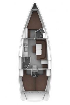 Bavaria Cruiser 41S between personal and professional Jezera