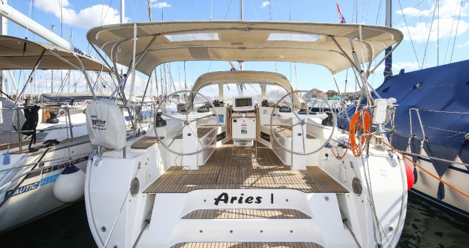 Bavaria Cruiser 45 between personal and professional Deme of Volos