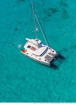 Boat rental Marina Cay cheap Lagoon 42