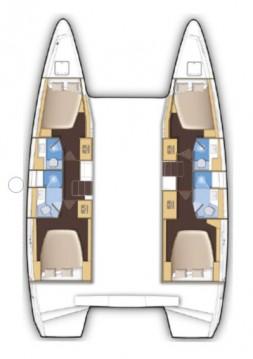Rental yacht Marina Cay - Lagoon Lagoon 42 on SamBoat
