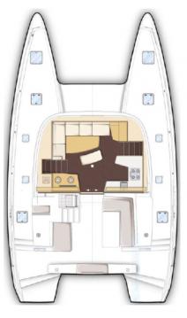 Rental Catamaran in Seget Donji - Lagoon Lagoon 42