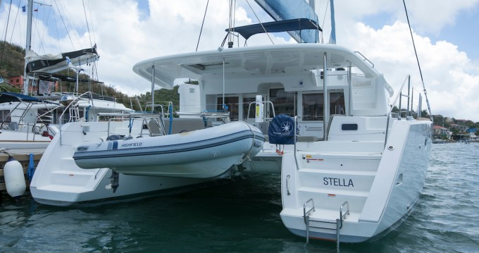 Rent a Lagoon Lagoon 450 F Marina Cay