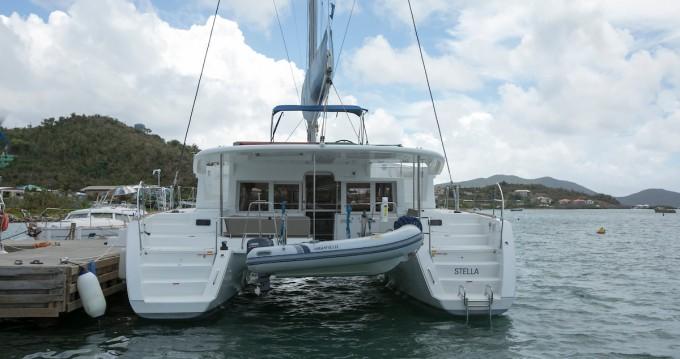 Rental Catamaran in Marina Cay - Lagoon Lagoon 450 F