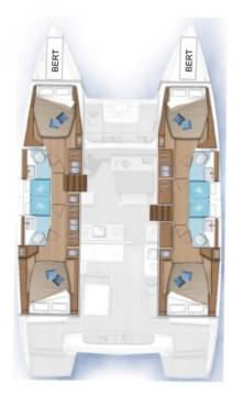 Rental Catamaran in Seget Donji - Lagoon Lagoon 46