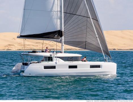 Rental Catamaran in Marina Cay - Lagoon Lagoon 46