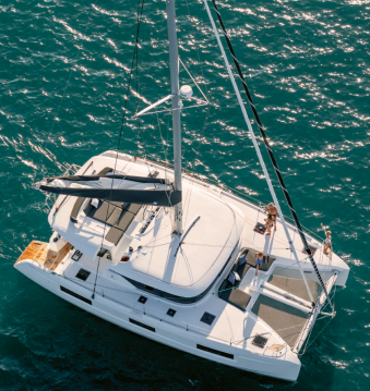 Catamaran for rent Marina Cay at the best price