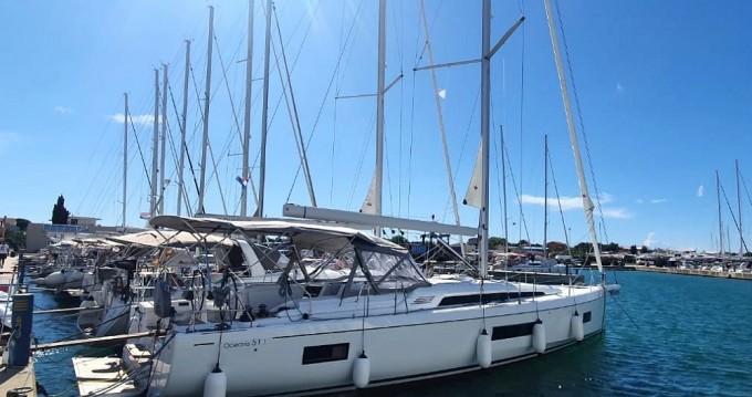 Boat rental Sukošan cheap Oceanis 51.1