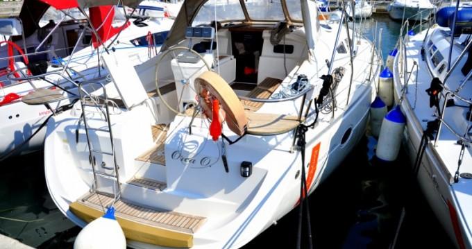 Rental Sailboat in Izola - Elan Impression 384