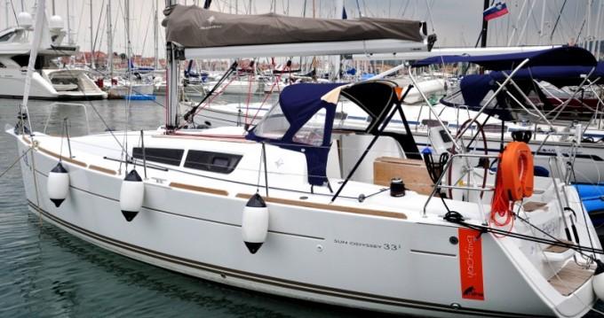 Rental yacht Izola - Jeanneau Sun Odyssey 33i on SamBoat