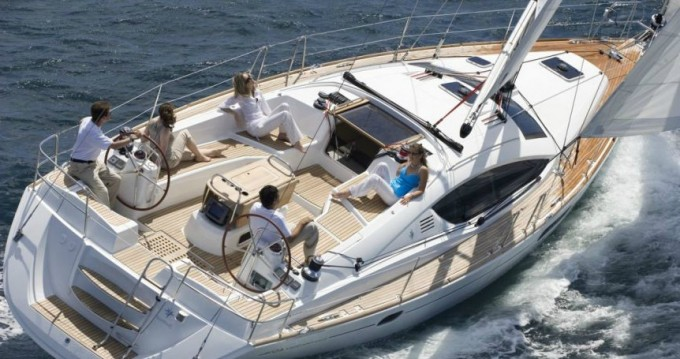 Jeanneau Sun Odyssey 43 - 3 cab. between personal and professional Izola