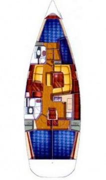Rent a Jeanneau Sun Odyssey 43 - 3 cab. Izola