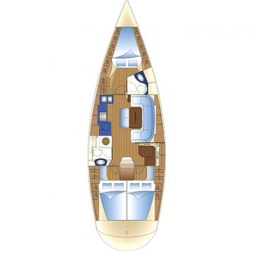 Rental yacht Lávrio - Bavaria Bavaria 42 Cruiser on SamBoat